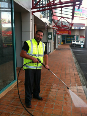 Smartwash Waterblasting Services Manager Jeremy